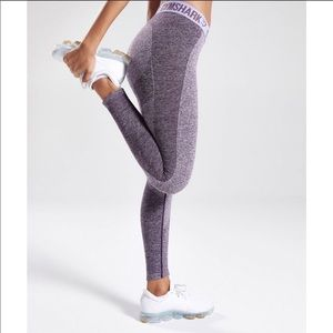 Gymshark | Flex Leggings Rich Purple Marl Pastel